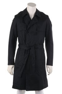 HUGO HUGO BOSS - coated-trenchcoat mit gürtel - 48