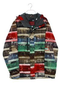 BURTON - print-ski-jacke mit kapuze - XL