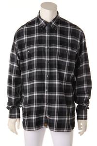 TOMMY HILFIGER - kariertes hemd aus baumwolle - XL
