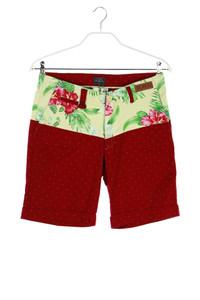 TWOANGLE PARIS - sommer- shorts mit tropical print - D 32