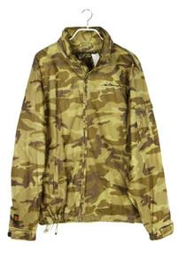 SIR BENNI MILES - camouflage-jacke mit kapuze - L