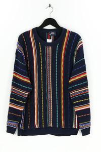 jac for men - rundhals-pullover mit streifen - 50