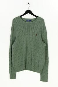 POLO RALPH LAUREN - baumwoll-strick-pullover mit logo-stickerei - XL