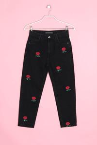 MANGO - jeans mit stickereien - D 36