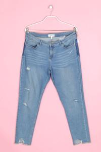 MANGO - destroyed-jeans mit logo-badge - D 44