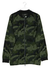 ZARA MAN - camouflage-zipper-cardigan - L