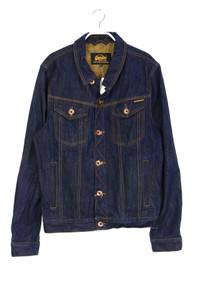 Superdry. - jeans-jacke mit logo-patch - XL