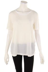 MARC CAIN - kurzarm-shirt mit strass-steinen - D 40