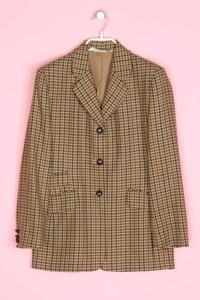 MARKS & SPENCER - blazer aus reiner schurwolle mit karo-muster - D 38