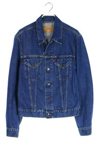 LEVI STRAUSS & CO. - jeans-jacke mit logo-badge - L