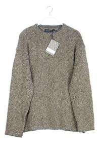 Irelandseye - rundhals-pullover aus woll-mix mit kaschmir - XXL