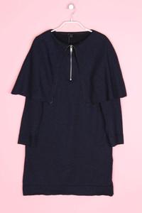 COS - strick-kleid mit wolle - S