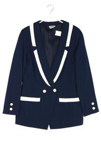 M MADELEINE - blazer im marine-stil im layer look - D 34