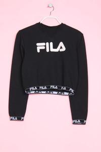 FILA - cropped-sweatshirt mit logo-print - XS