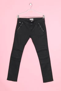 ROXY - skinny-jeans im biker-stil mit logo-plakette - W30