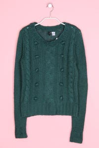 H&M DIVIDED - strick-pullover mit mohair - D 36