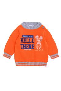 Disney baby - baumwoll- pullover mit stickereien - 62