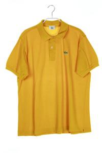 LACOSTE - polo-shirt mit logo-patch - L