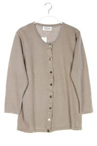 UNITED COLORS OF BENETTON - cardigan aus wolle mit angora - S
