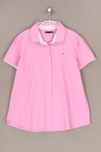 TOMMY HILFIGER - hemd-bluse mit kurzem ärmel mit logo-stickerei - D 42-44
