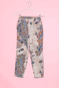 ONLY - hose mit paisley-print - S