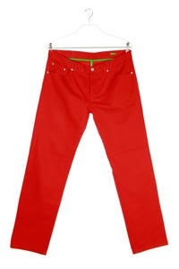 UNITED COLORS OF BENETTON - straight cut jeans mit logo-patch - W34