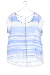 OPUS - kurzarm-shirt mit streifen - D 38
