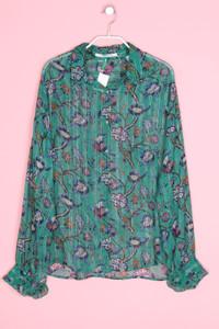 SCOTCH & SODA - chiffon-bluse mit blumen-print - M