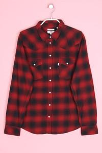 Levi´s - hemd-bluse mit karo-muster - M