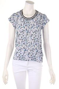 MARC CAIN - shirt aus seide mit floralem muster - D 34