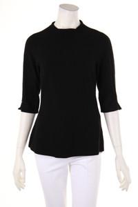 MARC CAIN - strick-pullover mit schmuckstein-applikation - D 40