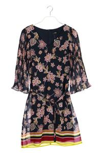 s.oliver - kleid mit blumen-print - S