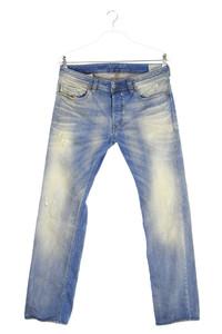 Diesel Industry - used look skinny-jeans - W33