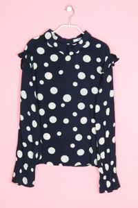 MANGO CASUAL - bluse mit punkten - L