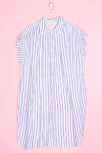 ZARA - oversize-kleid mit streifen - XL