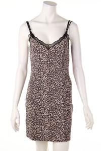 MARC CAIN - träger-kleid mit leo-print - D 36-38