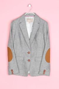 BANANA REPUBLIC - blazer aus woll-mix mit elbow patches - S