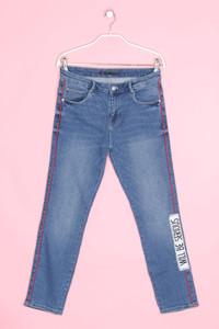 ZARA TRF - jeans  mit applikationen - D 36