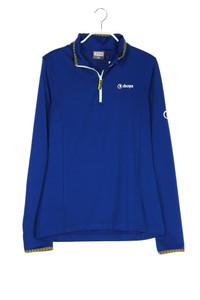 sherpa - longsleeve-shirt mit zipper - M