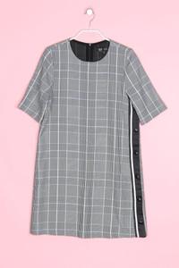 ZARA TRF - kleid mit karo-muster - M