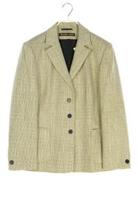 EUGEN KLEIN - vintage-blazer aus woll-mix mit leinen - D 40