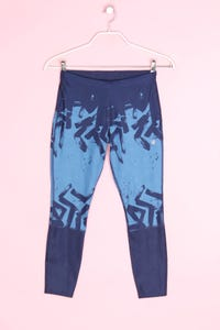 asics - sport leggings mit print - S