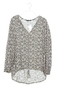 Marc O´Polo - muster-bluse mit tunnelzug - D 36