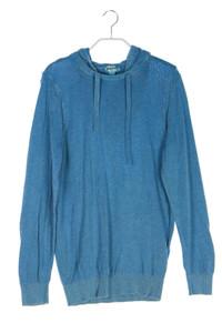 DIESEL - kapuzen-pullover aus baumwolle - M