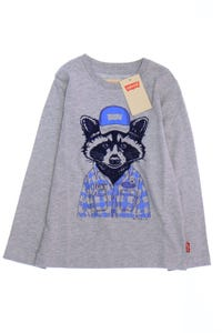 Levi´s - t-shirt mit animal-print - 110