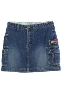 JEANO JEANS - jeans-rock mit aufgesetzten taschen - 134
