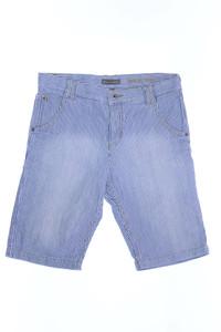 Marc O´Polo - streifen-shorts mit logo-badge - 164