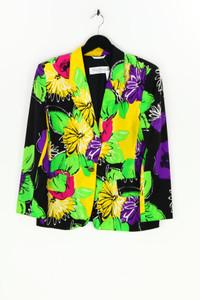 Max Mara pura seta - seiden-blazer mit reverskragen mit floralem muster - D 38-40