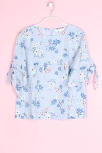 H&M - sommer-bluse mit 3/4-ärmel - D 38