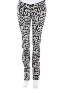 LOVE MOSCHINO - jeans mit logo-print - W28